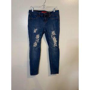 💕Elle skinny distressed jeans